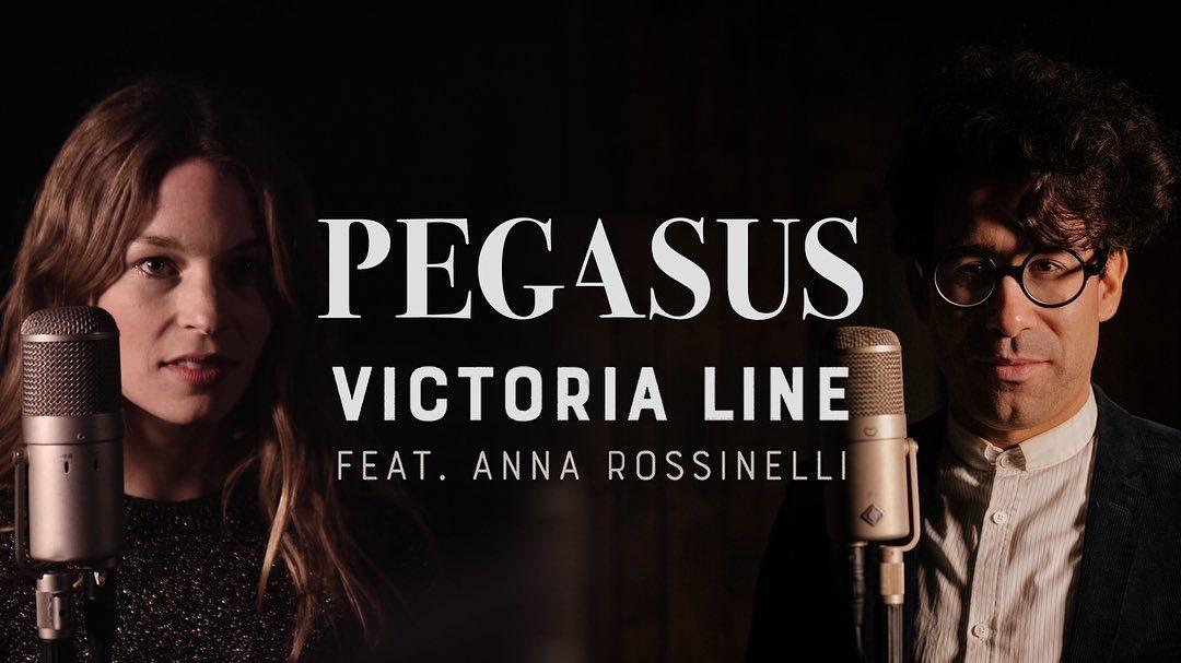 """Découvertes : Le nouveau single de Pegasus & Anna Rossinelli """"Victoria Line"""""""