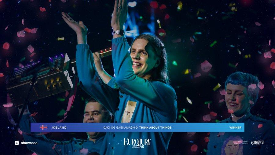 Eurojury 2020 : victoire de l'Islande