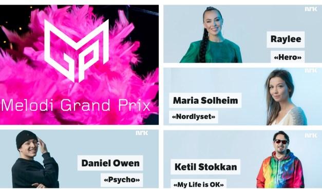 Melodi Grand Prix 2021 : présentation de quatre nouveaux demi-finalistes