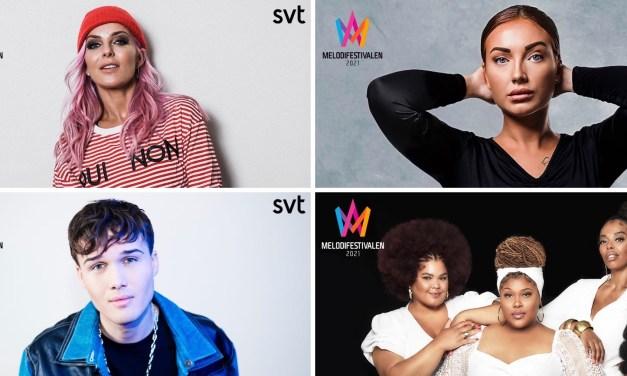 Melodifestivalen 2021 – 4ème demi-finale : portrait des candidat.e.s (1/2)