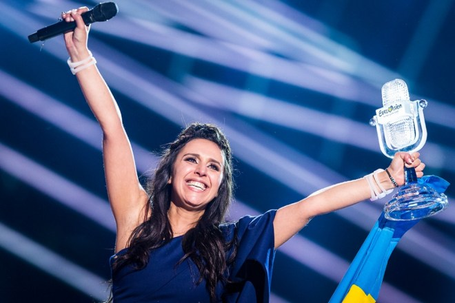 Jamala, the winner of Eurovision 2016.