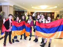 Mika & Armenian Delegation