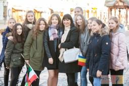 Alicja Rega and her fans. Image source: eurowizja.org/Dominik Matula