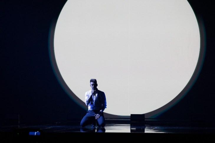 Estonia - Uku Suviste - Rehearsal One