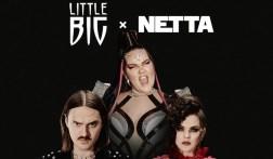 Little Big and Netta. Image source: Little Big