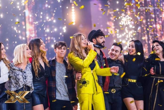 Michela Pace - zwyciężczyni X-Factor Malta (fot. TVM)