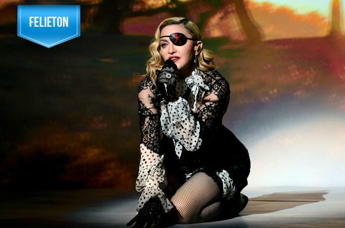 Madonna w czasie występu na BMA2019 (fot. Billboard)