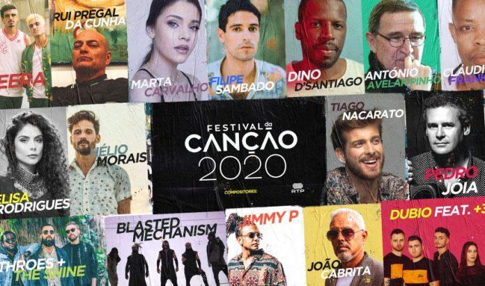 Kompozytorzy piosenek na Festival da Canção 2020