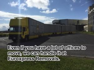 Office move London