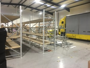 Factory removals business