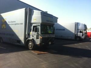 distribution warehouse removals london