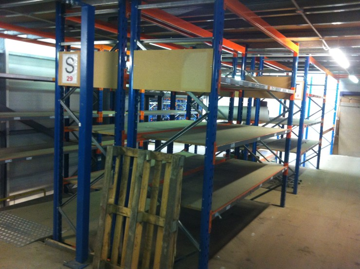 commercial moves warehouse