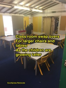 school removals organised