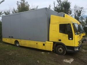 removals fleet lorry 7.5