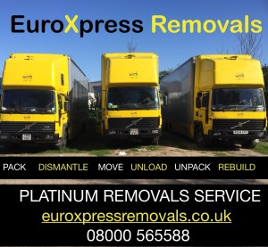 House removals and storage, domestic removals