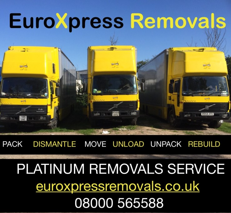 House removals and storage, storrington removals