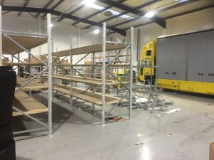 site building racking