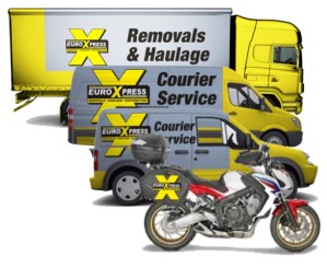 courier services,motorbike,car,van,lorry.