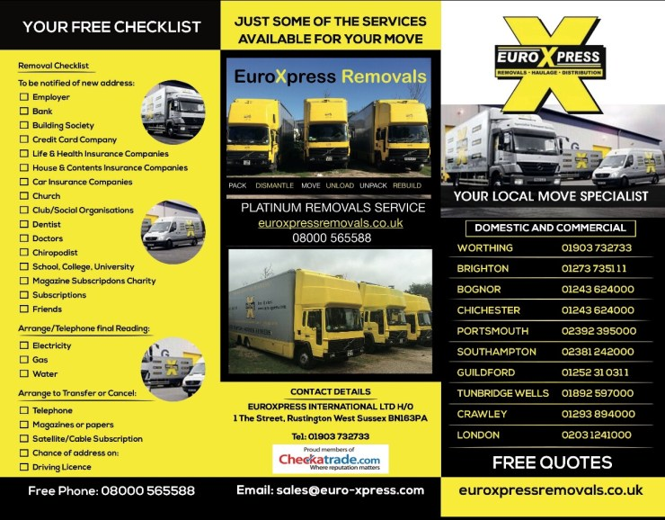 our new promotional flyer