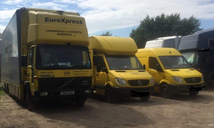 Home deliveries removals vans