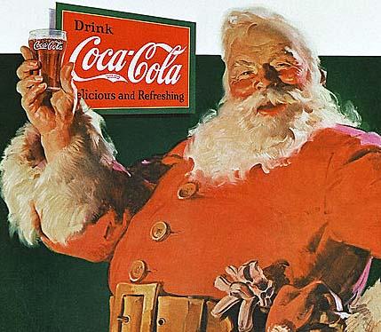 Comment Coca Cola a fait connaître le Père Noël