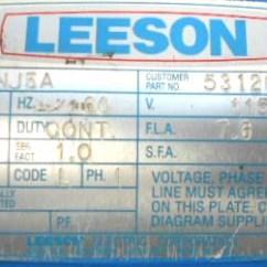 Electric Wheelchair Wiring Diagram Chevy 4 Pin Trailer Leeson C4c17nj5a Lift Motor Repair Rewinds Eurton