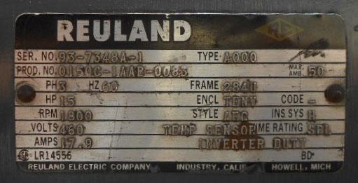 Rpm Tach Wiring Reuland 29b9 Bridge Crane Motor Motor Repair Amp Rewinds