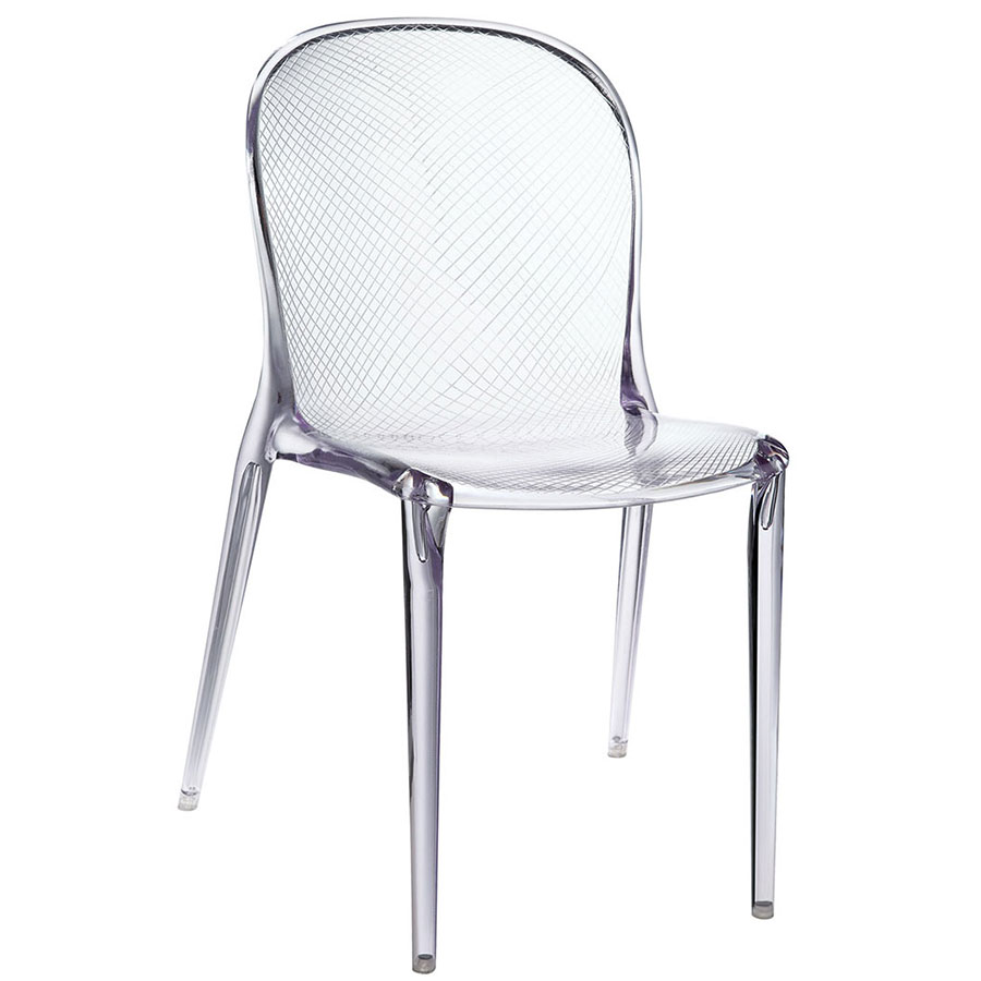 Plastic Clear Chair Spirit Dining Chair Clear