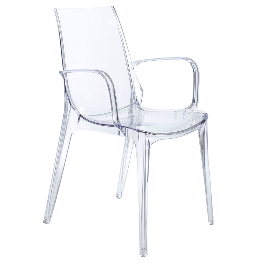 Clear Vanity Chair Vanity Arm Chair Clear Set Of 2