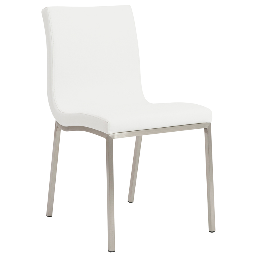 White Dining Chairs Scott Dining Chair White Set Of 2
