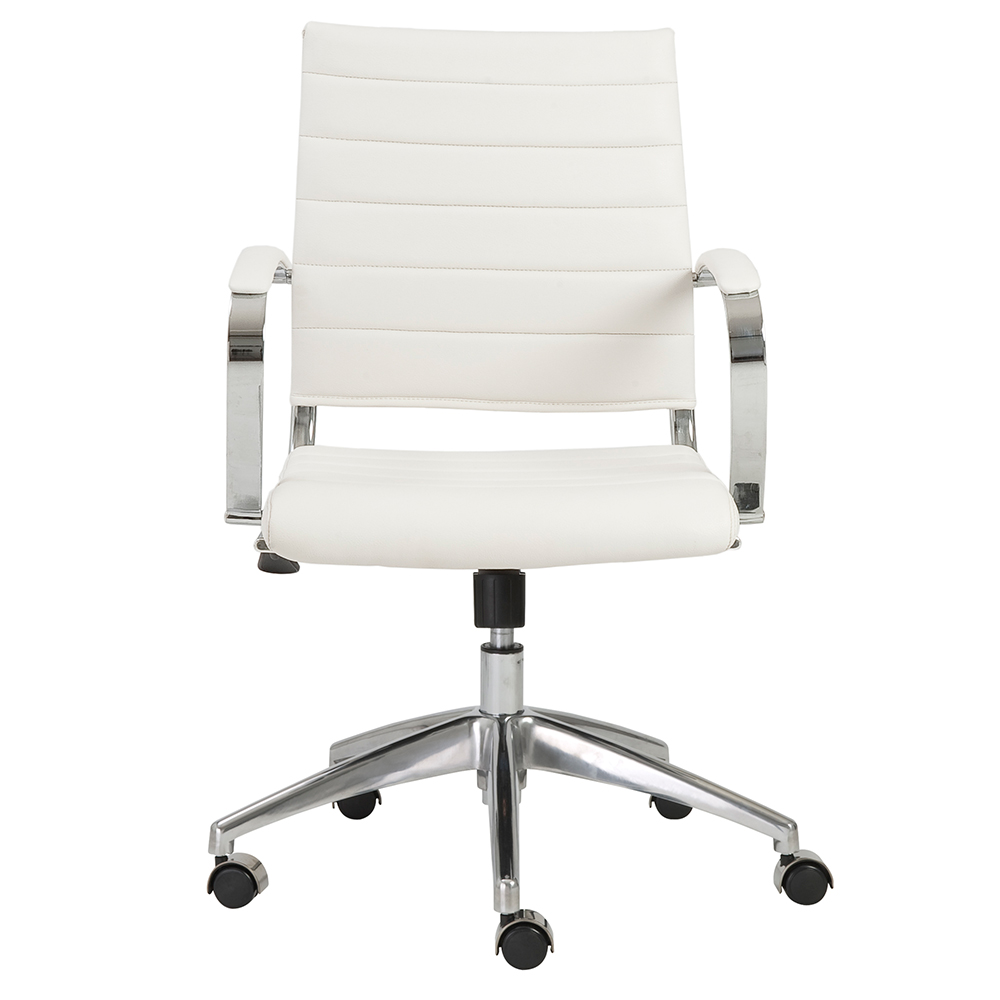 Low Back Office Chair Axel Low Back Office Chair White