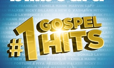 Entertainment One Music releases a must-have hits collection from gospel's biggest stars, in the two-disc album Billboard #1 Gospel Hits