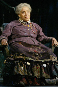 """Phylicia Rashad as Aunt Ester in August Wilson's """"Gem of the Ocean"""""""