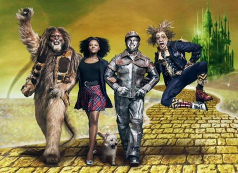 "NBC has released its first photo of ""The Wiz"" cast in their getups. Pictured L-R: David Alan Grier as the Cowardly Lion, Shanice Williams as Dorothy, Ne-Yo as the Tin Man and Elijah Kelley as the Scarecrow. Source: Ny Daily News"