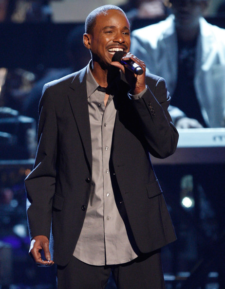 Singer Tevin Campbell performs onstage during the 2009 BET Awards held at the Shrine Auditorium on June 28, 2009 in Los Angeles, California.