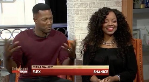 """Flex and Shanice on """"Hollywood Live"""""""