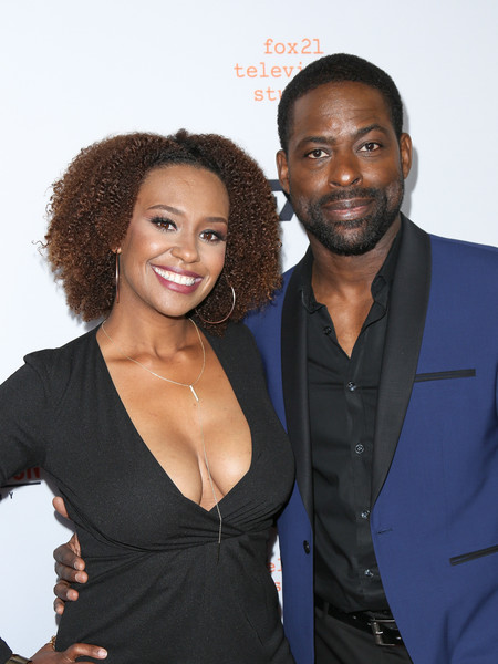 Ryan Michelle Bathe and Sterling K. Brown are seen attending the FX's For Your Consideration Event for 'The People v. O.J. Simpson - American Crime Story' at The Theatre at Ace Hotel.