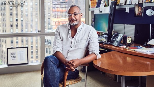 Chris Jackson was photographed Aug. 31 in his New York office.