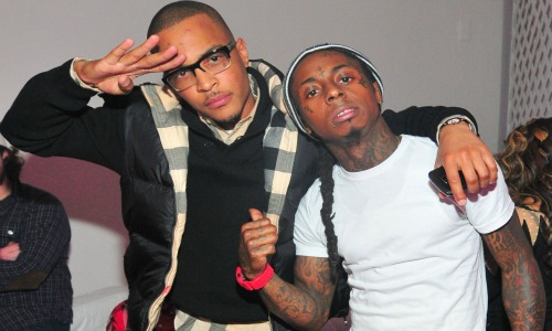 American Rappers T.I and Lil Wayne