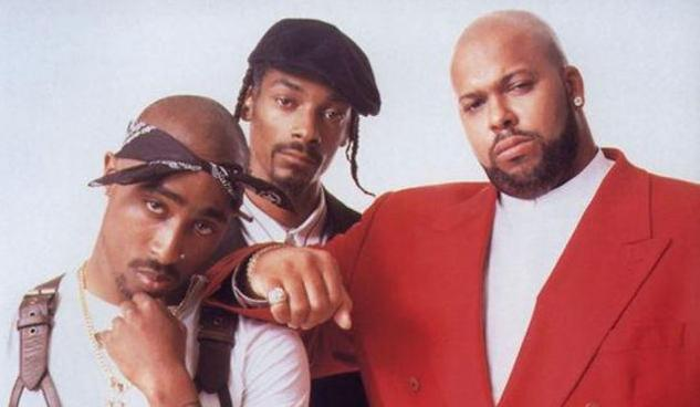 death row records on tupac