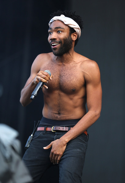 Childish Gambino performs on day 2 of the New Look Wireless Festival at Finsbury Park on July 4, 2015 in London, England.