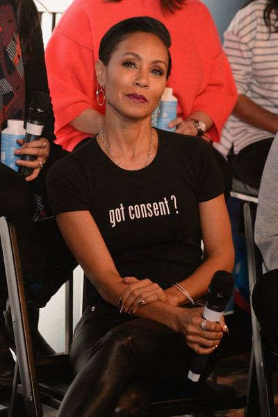 Jada Pinkett Smith attends The Will and Jada Smith Family Foundation Presents Broadening the Lens: Perspective on Diverse Storytelling panel at Buona Vita on January 21, 2018 in Park City, Utah.