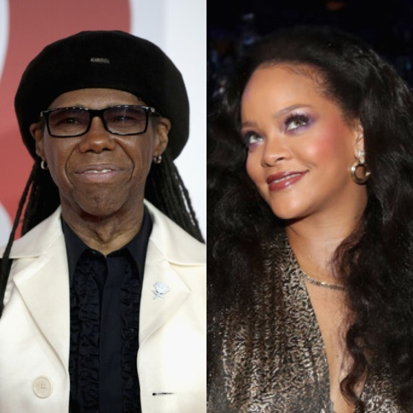 Nile Rodgers and Rihanna (Getty Images)