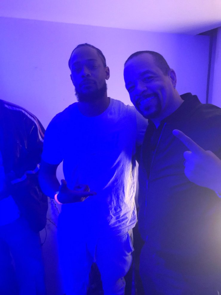 M Dot with Ice-T (Photo: Final Level Music)