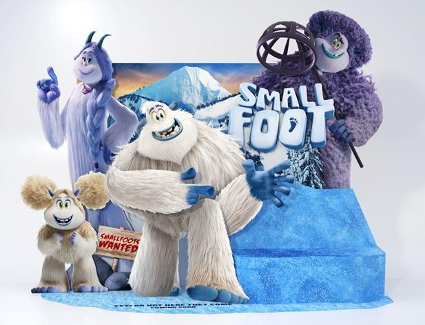 3528c41e6ff0 EUR Film Review Smallfoot Brings Out Big Celebrity Names  LeBron ...