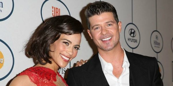 Who is robin thicke dating now