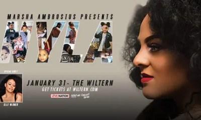 EUR Marsha Ambrosius Jan 31 2019 Wiltern concert