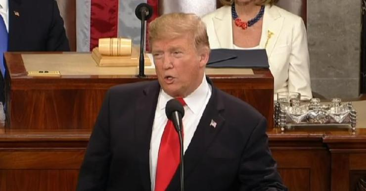 Trump - sotu - screenshot - 02-05-19