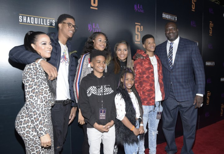 Image result for SHAQUILLE O'NEAL AND EX-WIFE SHAUNIE '