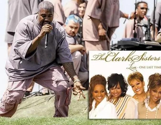 kanye west & clark sisters